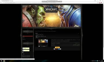 Joomla World of Warcraft Ba...