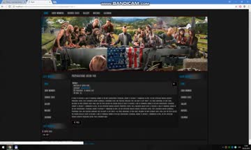 Joomla Far Cry 5 Template