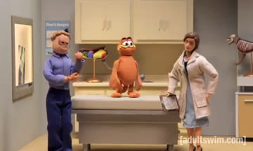 Garfield na veterině - Robot Chicken