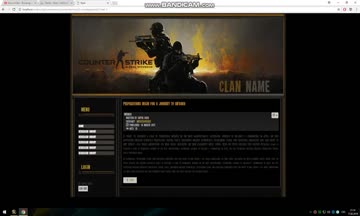 Joomla Template Counter-Strike: Global Offensive