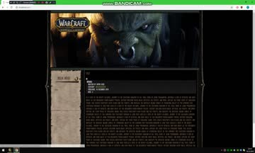 Joomla World of Warcraft (Battle for Azeroth) Template