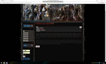 Joomla World of Warcraft Battle for Azeroth Template