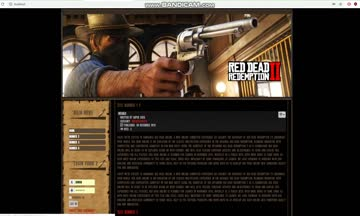 Joomla template - Red Dead ...